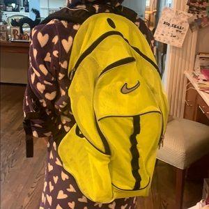 Nike mesh gym backpack